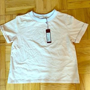 NWT SoulCycle cropped tee